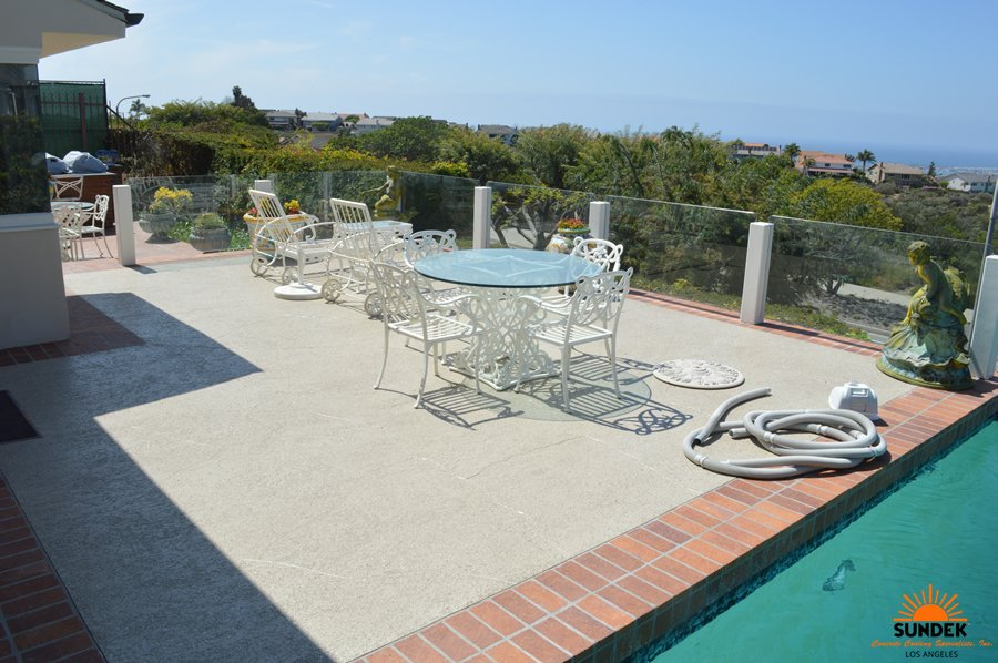 Concrete Coating Specialists Inc La S Pool Decking Photos