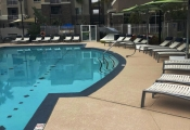 commercial concrete pool deck la