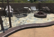 commercial concrete stamping pool deck los angeles