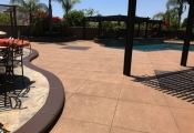 los angeles commercial pool deck