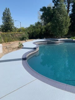 classic-texture-pool-deck-at-the-side