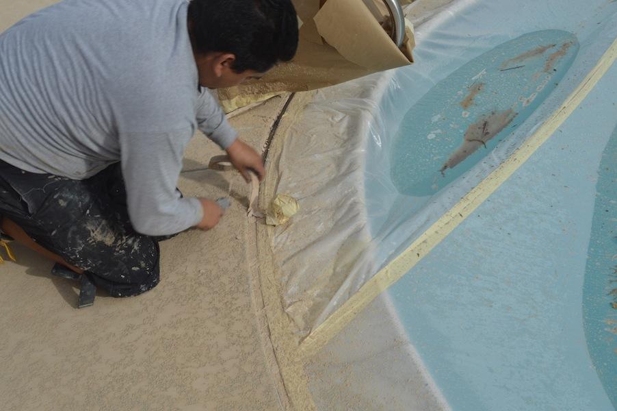 Los Angeles pool deck repair