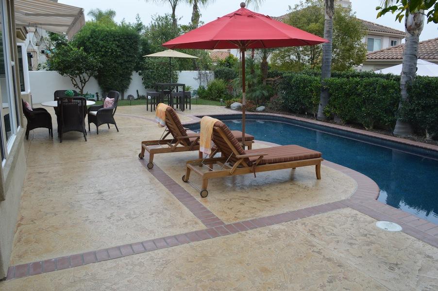 Los Angeles pool deck resurfacing