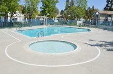 Los Angeles Pool Deck Coatings : Sundek Classic Texture Overlay